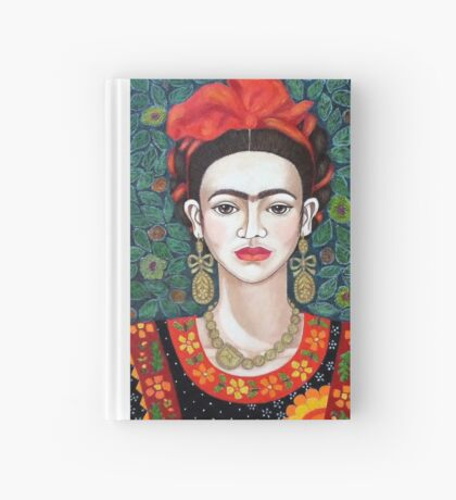 Frida,  Queen of Hearts closer I Hardcover Journal