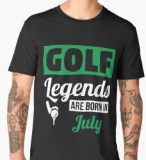 Golf Legends Are Born In July Men's Premium T-Shirt