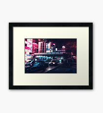 Tokyo's Taxis Framed Print