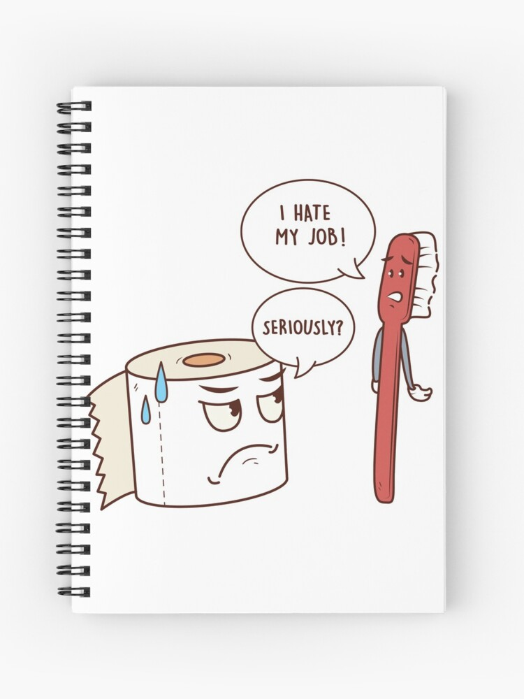 381f2da2c77 I Hate My Job Seriously? Funny Toilet Paper