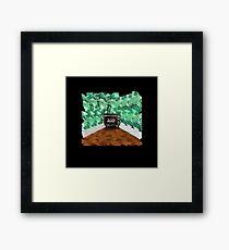 Black mirror tv Framed Print