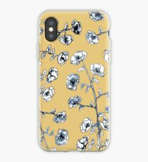 Yellow Flower Design iPhone Case