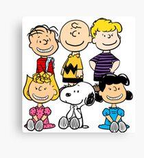 Peanuts - Charlie Brown, Snoopy Canvas Print