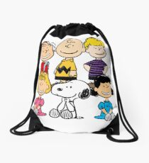 Peanuts - Charlie Brown, Snoopy Drawstring Bag