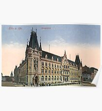 Cologne main post office Poster