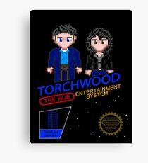 NINTENDO: NES Torchwood  Canvas Print
