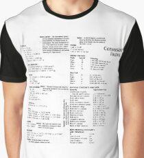 General Physics Conversion Factors #General #Physics #Conversion #Factors #GeneralPhysics #ConversionFactors Graphic T-Shirt