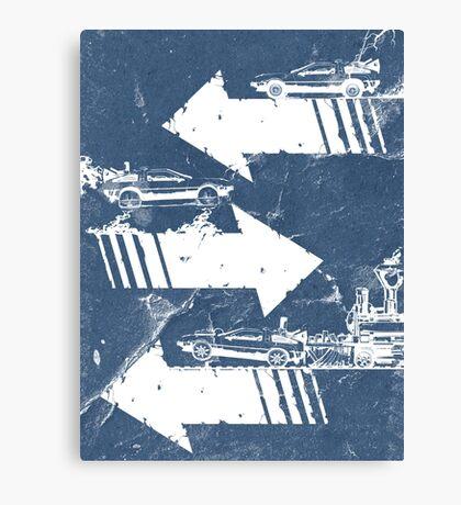 Time Distorted Minimalism Canvas Print