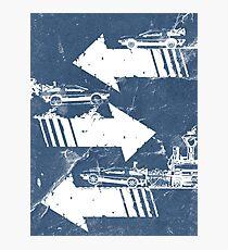 Time Distorted Minimalism Photographic Print