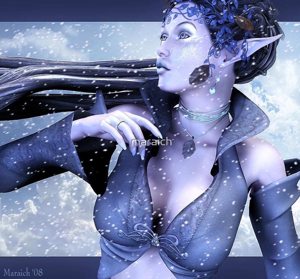 Icy Calm by maraich