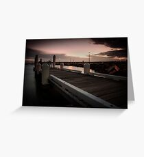 Forster Jetty Greeting Card