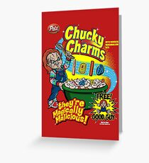 Chucky Charms Greeting Card