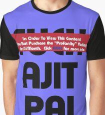 Censored Ajit Pai Graphic T-Shirt