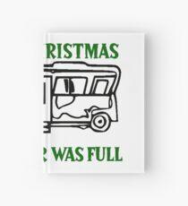 Merry Christmas Sh#s&%er Was Full Hardcover Journal