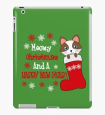 Merry Christmas and a Happy New Year! iPad Case/Skin