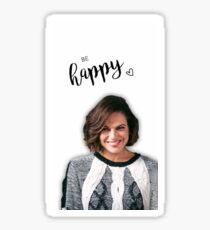 Be Happy LP  Sticker