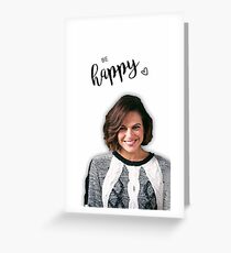 Be Happy LP  Greeting Card