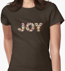 JOY Spring Flowers Women's Fitted T-Shirt