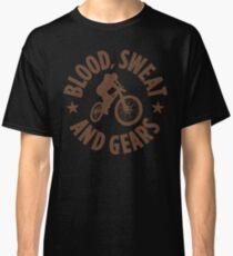 Blood Sweat and Tears Mountain Biking Gifts For Mountain Bikers Classic T-Shirt