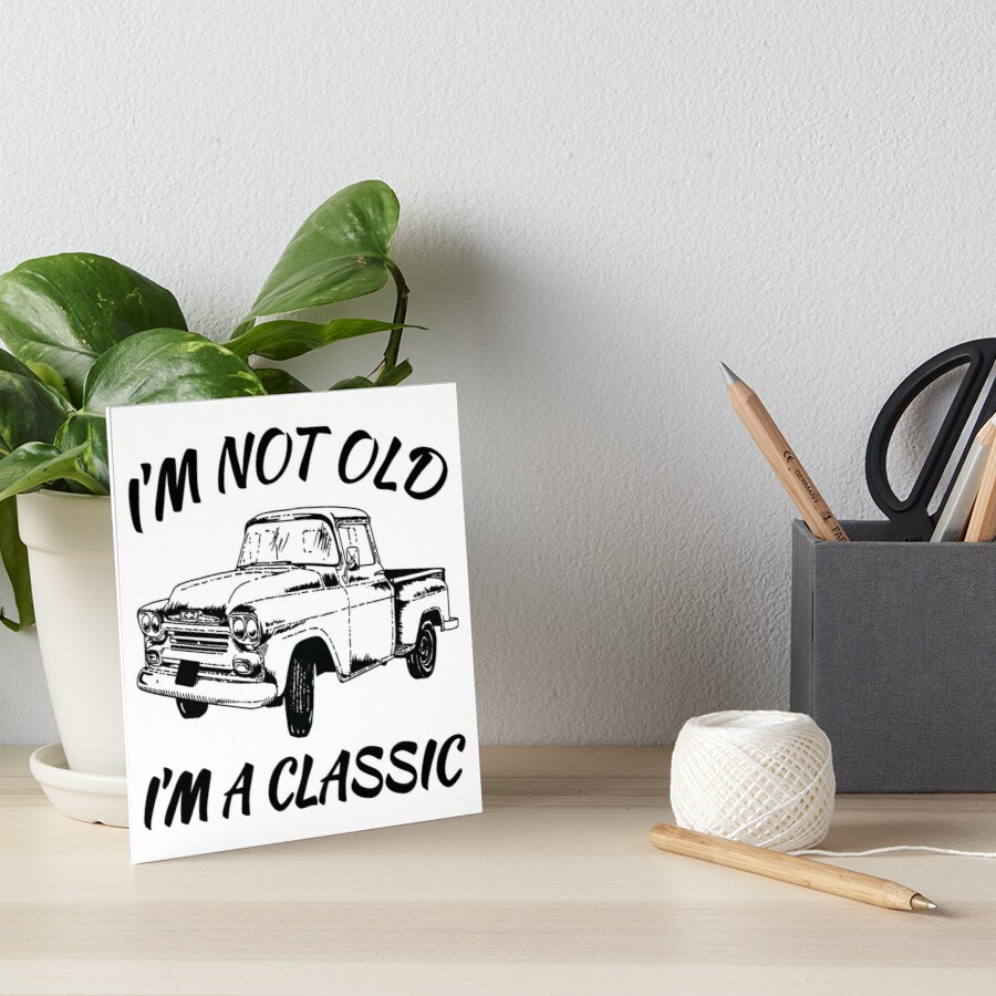 Funny Birthday Shirts For Vintage Car Lovers