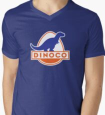 Dinoco (Cars) Men's V-Neck T-Shirt