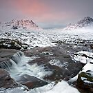 The Devils Cauldron below Creise and Buachaille Etive Mor - Glencoe - Scotland by Martin Lawrence