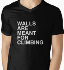 Walls Are Meant For Climbing Men's V-Neck T-Shirt