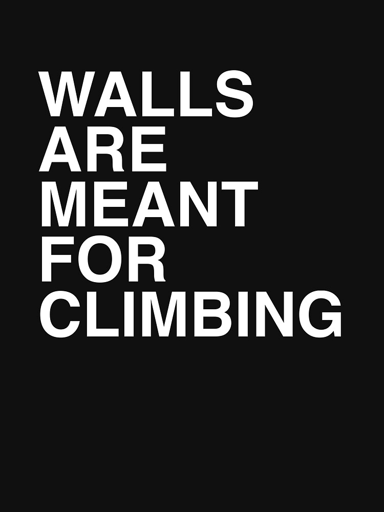 Walls Are Meant For Climbing by luiyeas