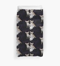 chihuahua group Duvet Cover