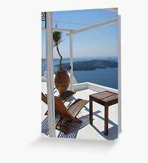 Aegean Lifestyle Greeting Card