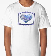 Blue Bubbles Long T-Shirt