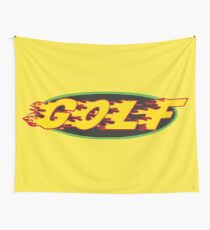 GOLF- Flames  Wall Tapestry