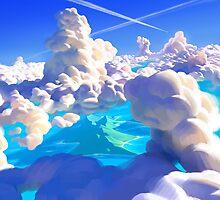 Ocean Clouds by ThorstenDenk