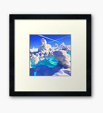 Ocean Clouds Framed Print