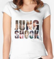 Jungshook Women's Fitted Scoop T-Shirt
