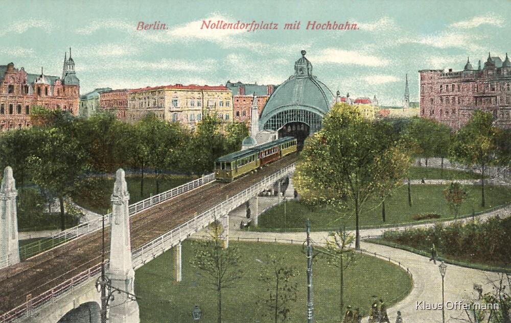 Berlin Nollendorfplatz and Hochbahn by Klaus Offermann