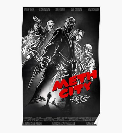 Meth City Poster