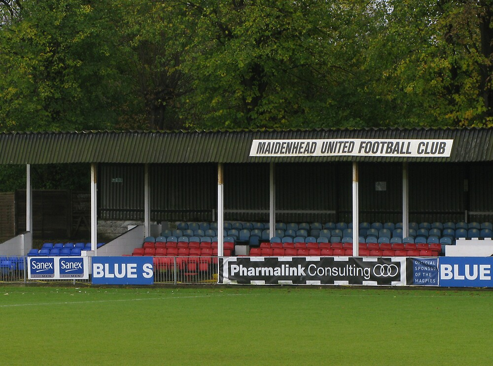 Maidenhead United FC Old Stand by elenmirie
