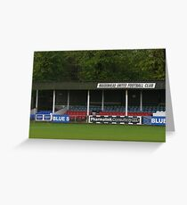 Maidenhead United FC Old Stand Greeting Card