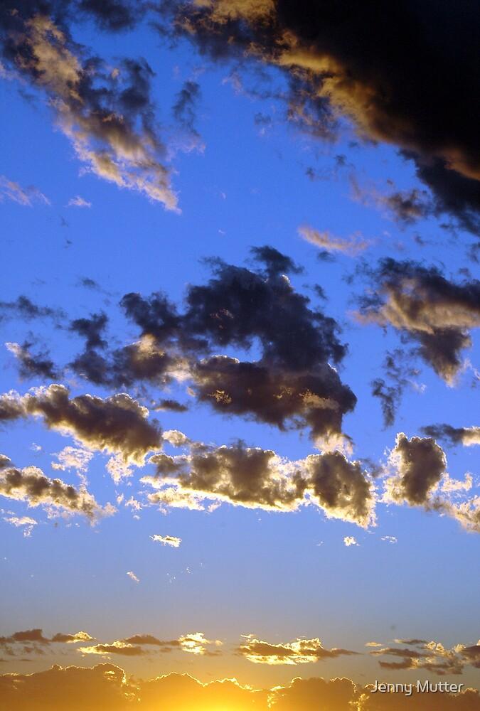 Sunset 2 by Jenny Mutter