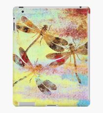 Mauritius Vintage Dragonflies Colours S iPad Case/Skin