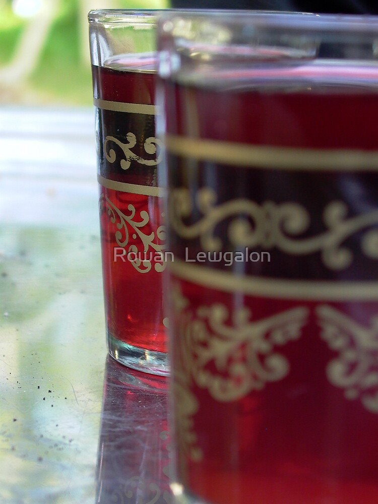 Date Tea with Rosewater by Rowan  Lewgalon