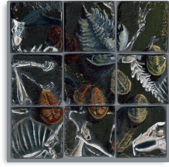 Haldane's Precambrian Puzzle (config.B):  true trilobite by Glendon Mellow