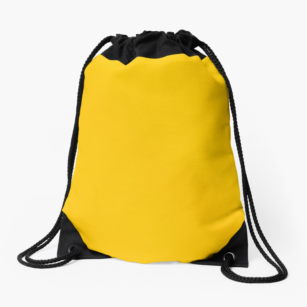 Gelbes Leder Turnbeutel