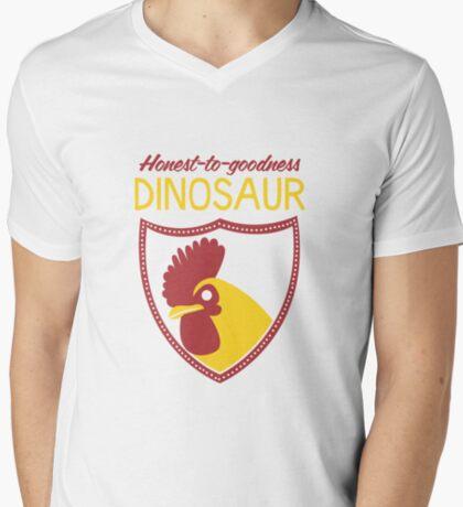 Honest-To-Goodness Dinosaur: Rooster (on dark background) T-Shirt