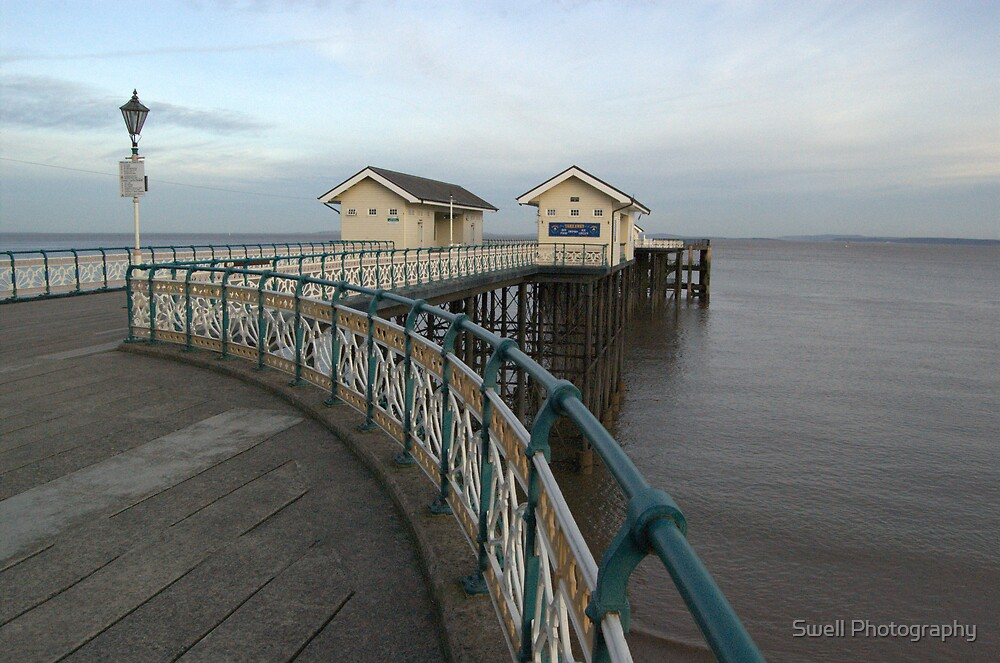 Penarth Pier by Swell Photography