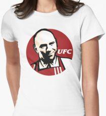 UFC KFC Logo Dana White Women's Fitted T-Shirt