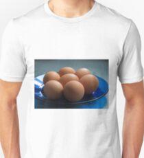 Eggs on a plate Unisex T-Shirt