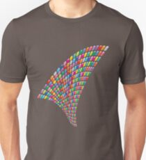 Rainbow Mosaic Twist Unisex T-Shirt