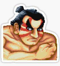 Street Fighter Stickers | E Honda Sticker